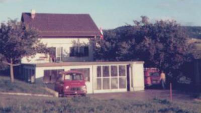 1969 Werkstatt-Vergrösserung